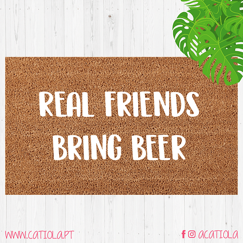 Tapete Real Friends Bring Beer
