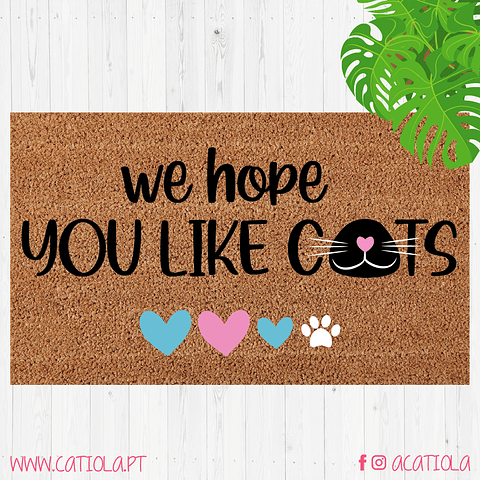 Tapete We Hope You Like Cats