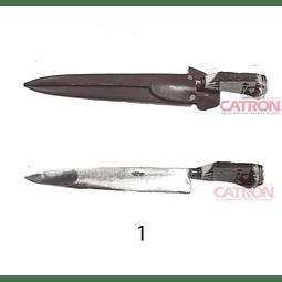 Cuchillo forjado 30 cm