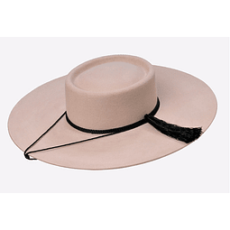 Sombrero Paño extra color Arena