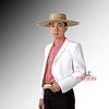 Chaqueta Blanca Corralera