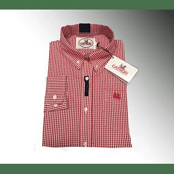 Camisa Cuadrillé Roja Catrón