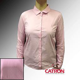 Blusa corralera cuadrille rosada