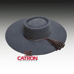 Sombrero de paño Acero