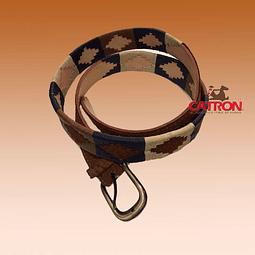 Cinturón Carpincho con Greca