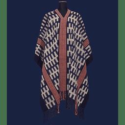 Poncho fino Patagón de lana Oveja