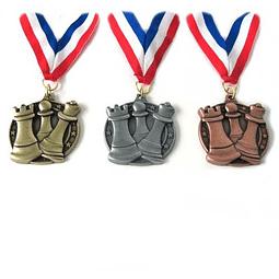 Set de Medallas para ajedrez