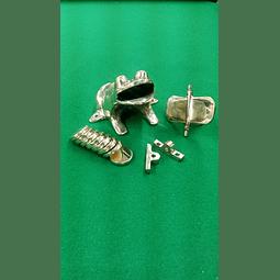 Rana Bronce Set
