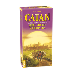 Catan Amp 5-6jug. Mercaderes y Barbaros