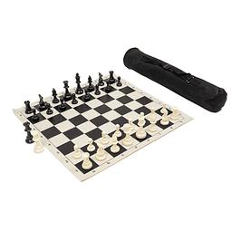 Set de ajedrez enrollable de lujo