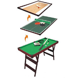 Mini Mesa Pool 3 en 1
