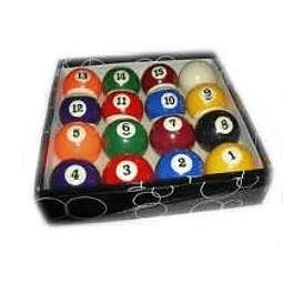 Juego Bola mini pool 38mm