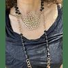 Collar Mandala Negro