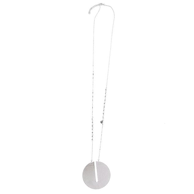 Collar Metal Circulo