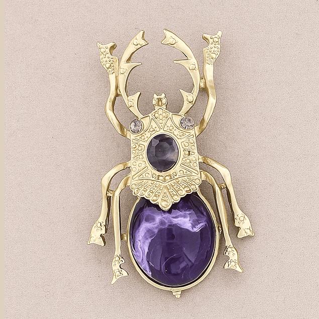 Prendedor Escarabajo