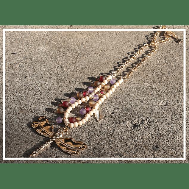 Collar Libelula color