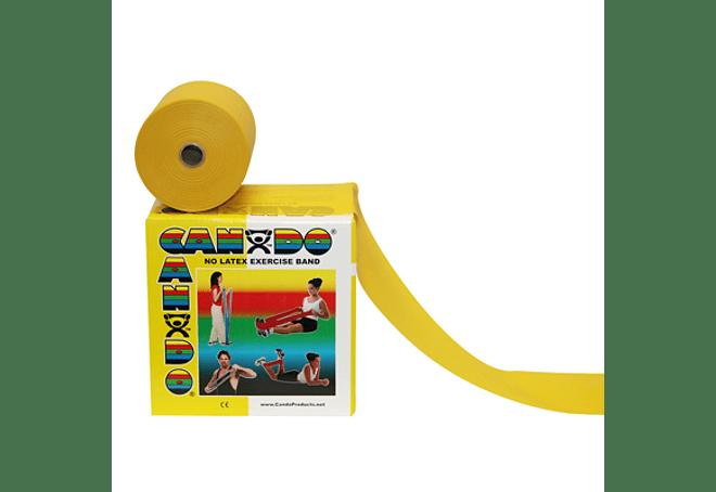 Banda Elástica Amarilla 50 yardas (45.5 metros)