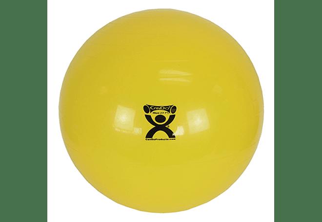 Pelota de Ejercicio inflable CanDo®  Amarillo - 45 cm