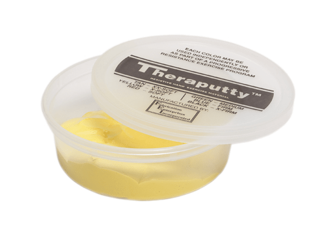 Theraputty® CanDo® Masa Terapéutica 4 oz Color Amarillo X Soft