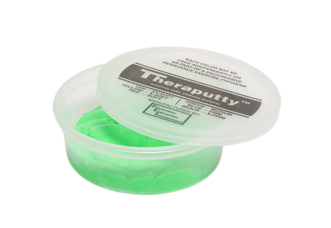 Theraputty® CanDo® Masa Terapéutica 4 oz Color Verde Medium