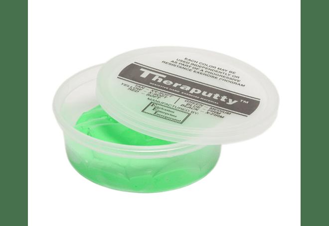 Theraputty® CanDo® Masa Terapéutica 4 oz Color Verde Medium