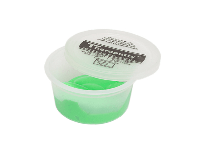 Theraputty® CanDo® Masa Terapéutica 2 oz Color Verde Medium