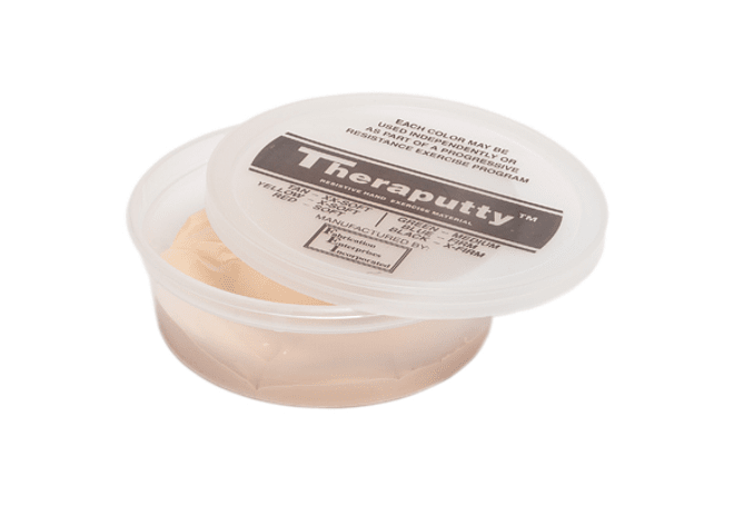 Theraputty® CanDo® Masa Terapéutica 6 oz Color Tan  XX-Soft: