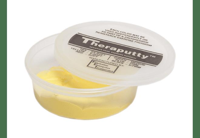 Theraputty® CanDo® Masa Terapéutica 6 oz Color Amarillo X Soft