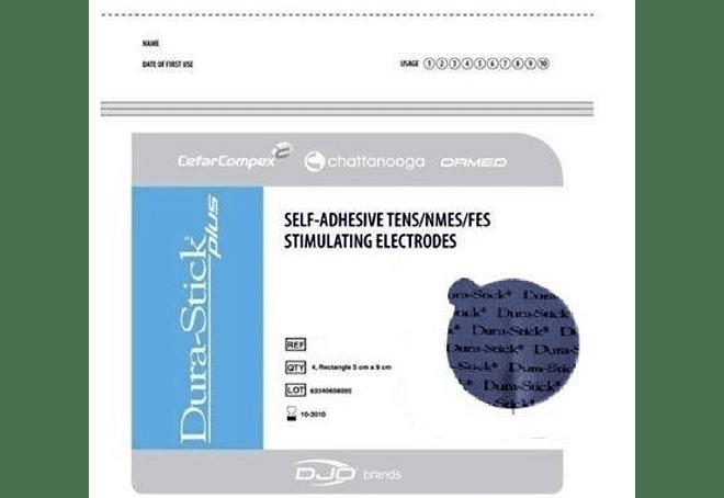 Electrodo Dura Stick Plus 5cm Redondo (4 unidades)