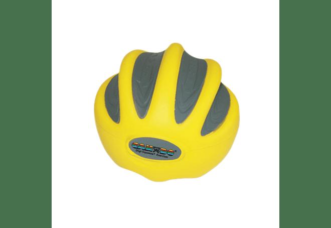 CanDo® Digi-Squeeze® Ejercitador de mano Amarillo X light, Pequeño