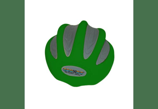 CanDo® Digi-Squeeze® Ejercitador de mano Verde Medium, Pequeño