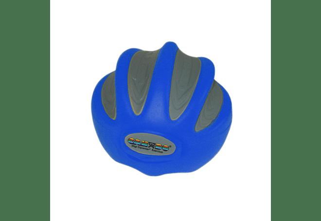 CanDo® Digi-Squeeze® Ejercitador de mano Azul Heavy, Pequeño