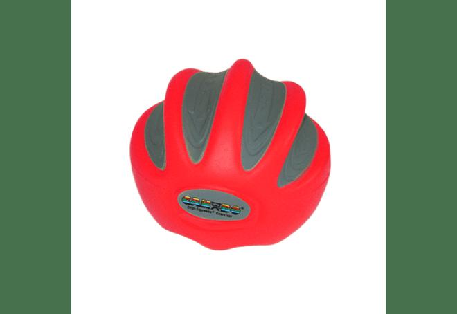 CanDo® Digi-Squeeze® Ejercitador de mano Rojo Light, Pequeño