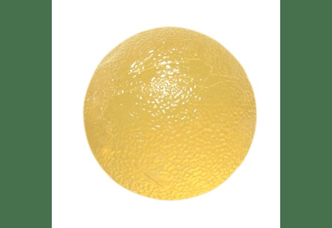 Gel Squeeze Ball CanDo® Tamaño Standar, Color Amarillo X Soft