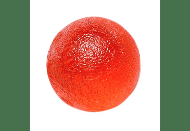 Gel Squeeze Ball CanDo® Tamaño Standar, Color Rojo Soft