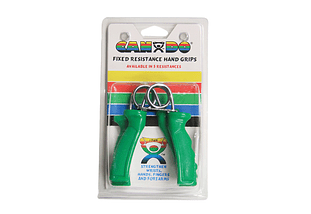 Ergonomic Hand Grip CanDo®  Color Verde, Medium