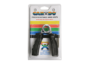 Ergonomic Hand Grip CanDo®  Color Negro, X Heavy