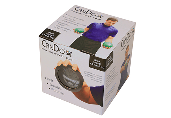 Wate™ Ball CanDo®  13 cm de diámetro, Color Negro, 3 Kilos
