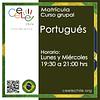 Matricula curso grupal Portugués LUNES y MIERCOLES de 19:30 A 21:00 hrs.