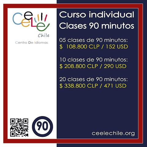 Curso Individual 05 clases de 90 minutos