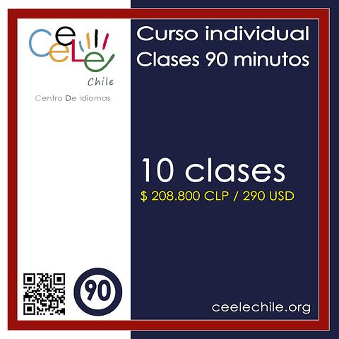Curso Individual 10 clases de 90 minutos