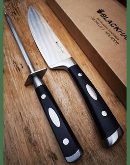 Cuchillo BlackHand 8´´ + Chaira