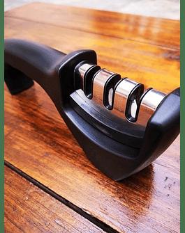 Afilador de cuchillos de acero de tungsteno