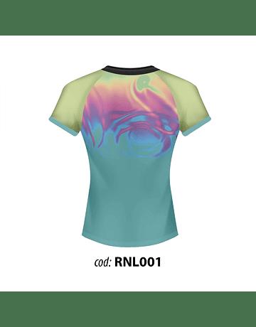 Camiseta de entrenamiento rugby Dama RNL001