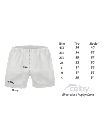 Short de rugby RS003