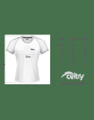 Camiseta de entrenamiento rugby Dama RNL004