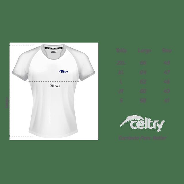 Camiseta de entrenamiento rugby Mujer RNL004