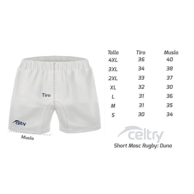 Short Rugby Hombre RS004