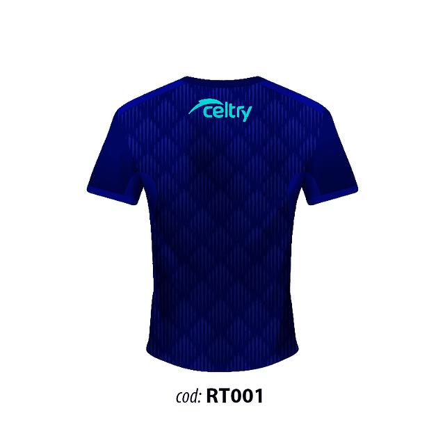 Camiseta Juego Corte Ajustado Hombre RT001