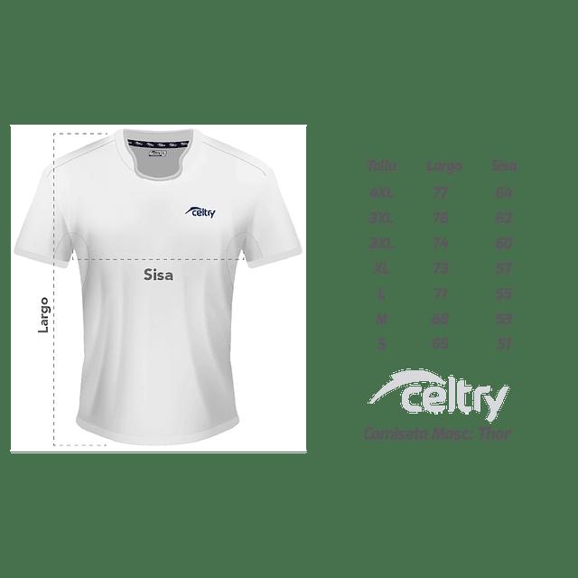 Camiseta Juego Corte Ajustado Hombre RT004